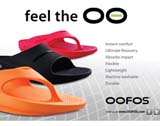 latest news - Oofos launch small pic